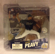 (TAS030724) - McFarlane - MLB - Jake Peavy - San Diego Padres, , Action Figure, McFarlane Toys, The Angry Spider Vintage Toys & Collectibles Store