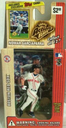 (TAS000204) - 1999 Topps Action Flats - Nomar Garciaparra Boston Red Sox, , Action Figure, Topps, The Angry Spider Vintage Toys & Collectibles Store