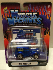 (TAS030807) - Muscle Machines Die Cast Car - '48 Anglia, , Cars, Muscle Machines, The Angry Spider Vintage Toys & Collectibles Store