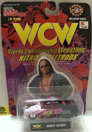 (TAS006097) - WWF WCW nWo WWE Nitro-Streetrods - Bret Hart, , Trucks & Cars, Racing Champions, The Angry Spider Vintage Toys & Collectibles Store