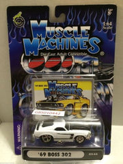 (TAS030791) - Muscle Machines Die Cast Car - '69 Boss 302, , Cars, Muscle Machines, The Angry Spider Vintage Toys & Collectibles Store
