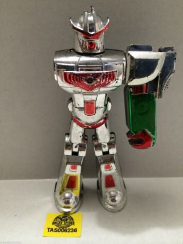 (TAS006236) - Unknown Robot Action Figure - Missing An Arm, , Action Figure, n/a, The Angry Spider Vintage Toys & Collectibles Store