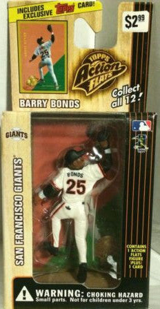 (TAS000159) - 1999 Topps Action Flats - Barry Bonds San Francisco Giants, , Action Figure, Topps, The Angry Spider Vintage Toys & Collectibles Store