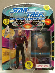 "(TAS031228) - Playmates Star Trek Action Figure - ""Q"", , Action Figure, Star Trek, The Angry Spider Vintage Toys & Collectibles Store"