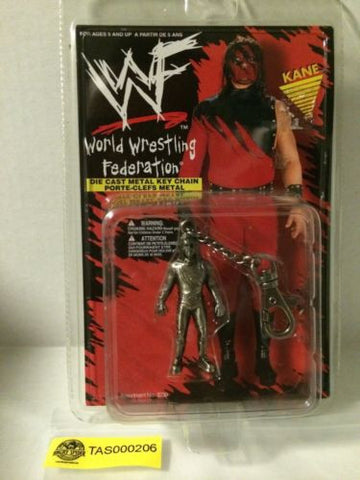 (TAS000206) - WWE WWF WCW nWo Wrestling Die Cast Key Chain Figure - Kane, , Key Chain, Wrestling, The Angry Spider Vintage Toys & Collectibles Store
