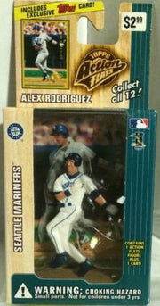 (TAS000296) - 1999 Topps Action Flats - Alex Rodriguez Seattle Mariners, , Action Figure, Topps, The Angry Spider Vintage Toys & Collectibles Store
