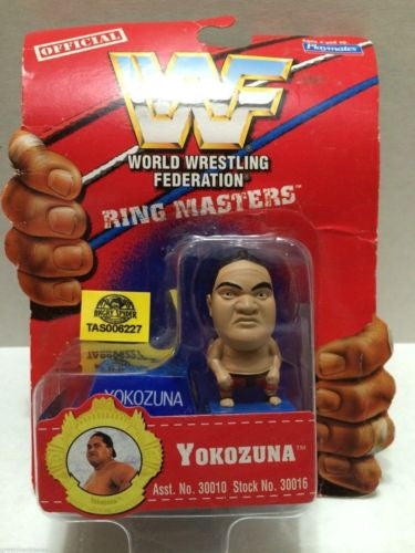 (TAS006227) - WWE WWF WCW nWo Wrestling Ring Masters Stand - Yokozuna, , Action Figure, Wrestling, The Angry Spider Vintage Toys & Collectibles Store
