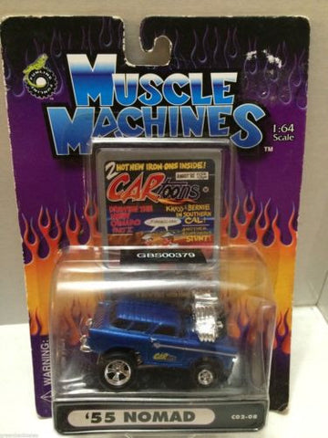 (TAS030760) - Muscle Machines Die Cast Car - '55 Nomad, , Cars, Muscle Machines, The Angry Spider Vintage Toys & Collectibles Store
