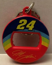 (TAS003352) - Nascar Die-Cast Bottle Opener Keychain Jeff Gordon #24 Dupont, , Keychain, Nascar, The Angry Spider Vintage Toys & Collectibles Store