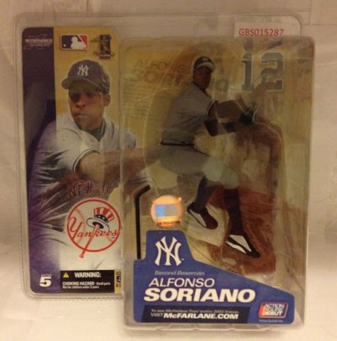 (TAS030725) - McFarlane - MLB - Alfonso Soriano - New York Yankees, , Action Figure, McFarlane Toys, The Angry Spider Vintage Toys & Collectibles Store