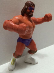 "(TAS004938) - WWF WWE WCW 1991 Titan Hasbro LJN - Randy ""Macho King"" Savage, , Action Figure, Wrestling, The Angry Spider Vintage Toys & Collectibles Store  - 2"