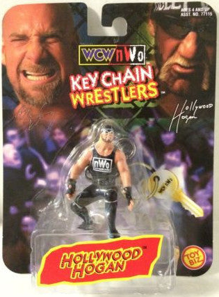 (TAS004900) - WWE WWF WCW Wrestling Keychain Wrestlers Hollywood Hogan, , Keychain, Wrestling, The Angry Spider Vintage Toys & Collectibles Store
