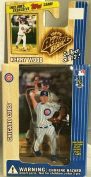 (TAS000231) - 1999 Topps Action Flats - Kerry Wood Chicago Cubs, , Action Figure, Topps, The Angry Spider Vintage Toys & Collectibles Store