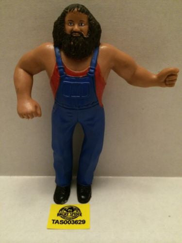(TAS003629) - WWE WWF WCW Wrestling Bendies Action Figure - Hillbilly Jim, , Sports, Varies, The Angry Spider Vintage Toys & Collectibles Store