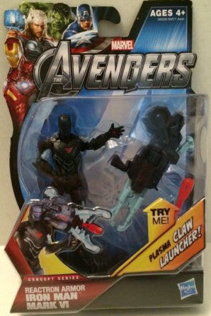 (TAS003584) - Hasbro Marvel The Avengers - Reactron Armor Iron Man Mark VI, , Action Figure, Iron Man, The Angry Spider Vintage Toys & Collectibles Store