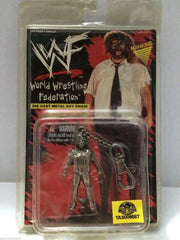 (TAS006587) - WWE WWF WCW Wrestling Die Cast Metal Keychain - Mankind, , Key Chain, Wrestling, The Angry Spider Vintage Toys & Collectibles Store