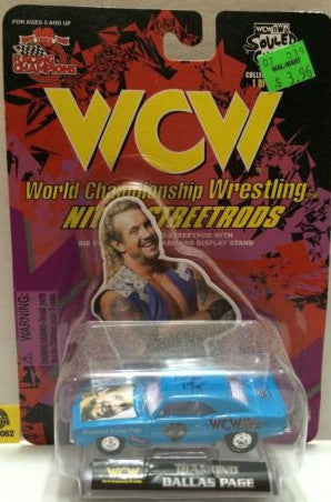 (TAS006082) - WWF WCW nWo WWE Nitro-Streetrods - DDP, , Trucks & Cars, Racing Champions, The Angry Spider Vintage Toys & Collectibles Store