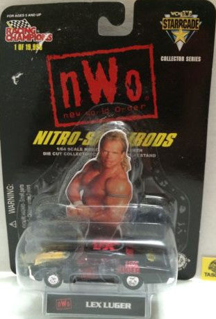 (TAS006386) - WWF WCW nWo WWE Nitro-Streetrods - Lex Luger, , Trucks & Cars, Racing Champions, The Angry Spider Vintage Toys & Collectibles Store