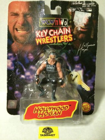 (TAS004427) - 1998 Toy Biz WWE WWF Wrestling Key Chain - Hollywood Hogan, , Key Chain, Wrestling, The Angry Spider Vintage Toys & Collectibles Store