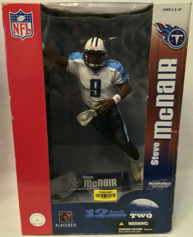 "(TAS030173) - 2004 McFarlane NFL 12"" Tennessee Titans Steve Mcnair - Series 2, , Action Figure, NFL, The Angry Spider Vintage Toys & Collectibles Store  - 1"