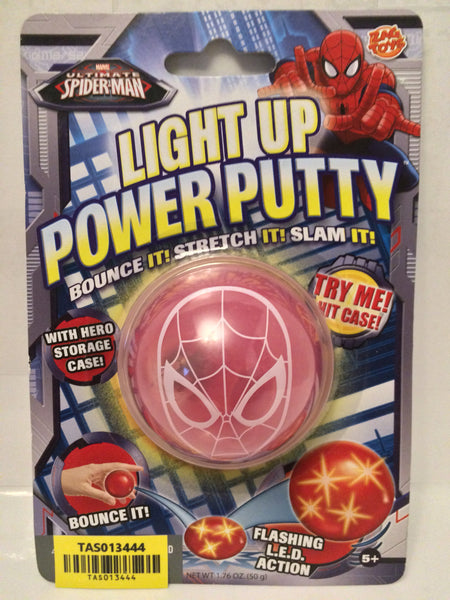 (TAS030179) - 2013 Zag Toys Marvel Avengers Light Up Power Putty - Spider-Man, , Action Figure, Spiderman, The Angry Spider Vintage Toys & Collectibles Store  - 1