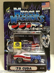 (TAS030820) - Muscle Machines Die Cast Car - '70 Cuda, , Cars, Muscle Machines, The Angry Spider Vintage Toys & Collectibles Store