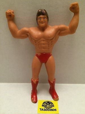 (TAS003606) - WWE WWF WCW Wrestling Bendies Action Figure - Paul Orndorff, , Sports, Varies, The Angry Spider Vintage Toys & Collectibles Store