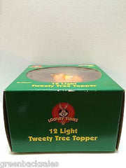 (TAS009255) - Looney Tunes 12 Light Tweety Christmas Tree Topper (used) - Tweety, , Christmas, Looney Tunes, The Angry Spider Vintage Toys & Collectibles Store  - 5