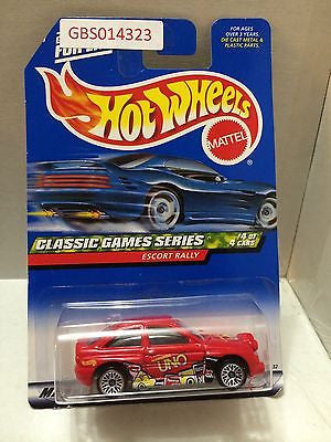 (TAS030973) - Mattel Hot Wheels Car - Escort Rally, , Cars, Hot Wheels, The Angry Spider Vintage Toys & Collectibles Store