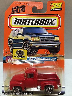 (TAS009266) - Matchbox Cars - '56 Ford Pick-Up, , Cars, Matchbox, The Angry Spider Vintage Toys & Collectibles Store