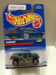 (TAS030897) - Mattel Hot Wheels Car - Humvee, , Cars, Hot Wheels, The Angry Spider Vintage Toys & Collectibles Store