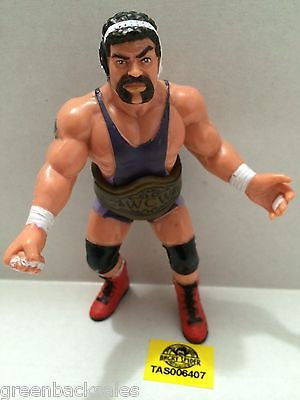 (TAS006407) - WWE WWF WCW nWo Wrestling Galoobs Figure - Rick Steiner with Belt, , Action Figure, Wrestling, The Angry Spider Vintage Toys & Collectibles Store