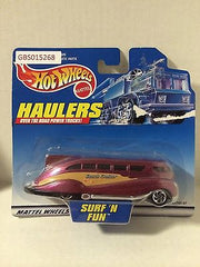 (TAS030516) - 2000 Mattel Hot Wheels Die-Cast Haulers Suft 'N Fun, , Cars, Hot Wheels, The Angry Spider Vintage Toys & Collectibles Store