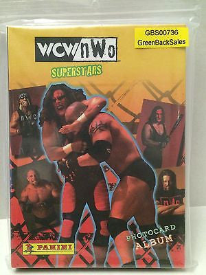 (TAS031297) - WWF WWE WCW NWO Wrestling Superstars PhotoCard Album, , Action Figure, Wrestling, The Angry Spider Vintage Toys & Collectibles Store
