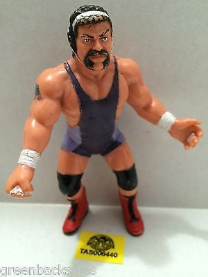 (TAS006440) - WWE WWF WCW nWo Wrestling Galoobs Action Figure - Rick Steiner, , Action Figure, Wrestling, The Angry Spider Vintage Toys & Collectibles Store