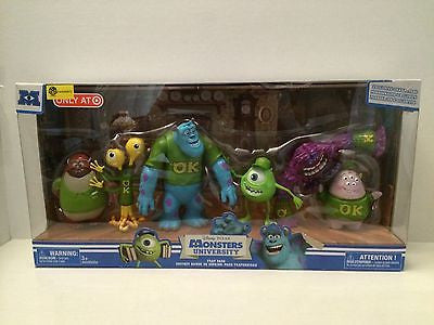 (TAS000972) - Disney PIXAR Monsters University Frat Pack -Sully, Mike Art & More, , Action Figure, Disney, The Angry Spider Vintage Toys & Collectibles Store