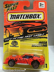 (TAS009221) - Matchbox Cars - IMSA Mustang, , Cars, Matchbox, The Angry Spider Vintage Toys & Collectibles Store