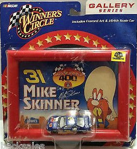 (TAS006743) - 2001 Winner's Circle Nascar Gallery Series - Mike Skinner #31, , Cars, Winner's Circle, The Angry Spider Vintage Toys & Collectibles Store