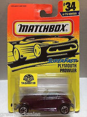(TAS009139) - Matchbox Cars - Plymouth Prowler, , Cars, Matchbox, The Angry Spider Vintage Toys & Collectibles Store