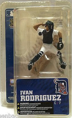 (TAS010371) - 2007 MLB Baseball Action Figure - Ivan Rodriguez, , Action Figure, MLB, The Angry Spider Vintage Toys & Collectibles Store  - 1