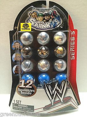 (TAS008430) - WWE Series 5 Squinkies - 12 Squinkies, , Action Figure, Wrestling, The Angry Spider Vintage Toys & Collectibles Store