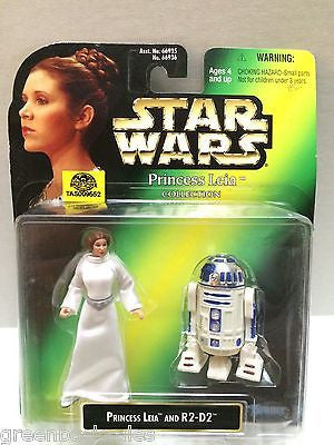 (TAS009552) - Star Wars Princess Leia Collection Princess Leia & R2-D2, , Action Figure, Star Wars, The Angry Spider Vintage Toys & Collectibles Store