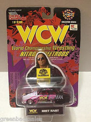 (TAS008838) - 1998 Racing Champions WCW Nitro-Street Rod Car - Bret Hart, , Diecast-Modern Manufacture, Racing Champions, The Angry Spider Vintage Toys & Collectibles Store  - 3