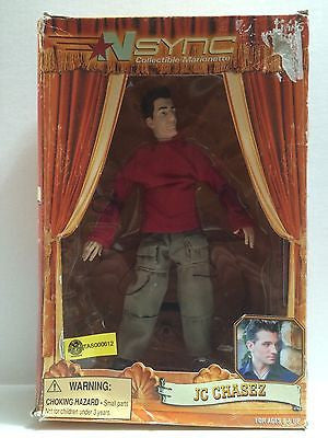 (TAS000612) - N'Sync Collectible Marionette - Living Toyz - JC Chasez, , Action Figure, n/a, The Angry Spider Vintage Toys & Collectibles Store