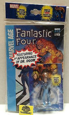 (TAS008467) - Collectible Marvel Special Collector's Edition Fantastic Four, , Action Figure, Marvel, The Angry Spider Vintage Toys & Collectibles Store