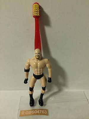 (TAS030538) - WWE WWF WCW nWo Wrestling Superstar Toothbrush - Goldberg, , Bath, Wrestling, The Angry Spider Vintage Toys & Collectibles Store