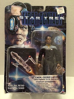 (TAS031301) - Star Trek First Contact - Lt Commander Georgi LaForge, , Action Figure, Star Trek, The Angry Spider Vintage Toys & Collectibles Store