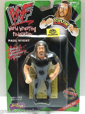 (TAS008390) - WWF WWE Wrestling JusToys Bend-Ems Figure - Paul Wight/Big Show, , Action Figure, Wrestling, The Angry Spider Vintage Toys & Collectibles Store
