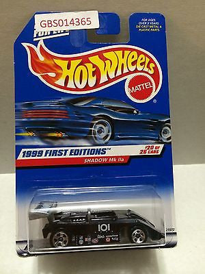 (TAS030980) - Mattel Hot Wheels Car - Shadow Mk IIa, , Cars, Hot Wheels, The Angry Spider Vintage Toys & Collectibles Store