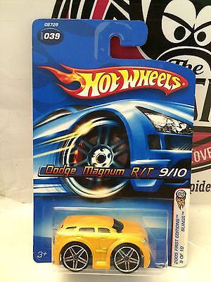 (TAS004219) - Hot Wheels - '05 First Editions - Dodge Magnum R/T 9/10, , Cars, Hot Wheels, The Angry Spider Vintage Toys & Collectibles Store